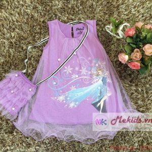 Váy bé gái kèm túi từ 1 -8 tuổi