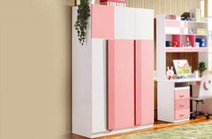 Những mẫu tủ quần áo đẹp trong phòng của bé