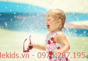 Cách điều trị say nắng ở trẻ nhỏ