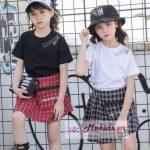 Đồ bộ sang chảnh dành cho bé gái từ 5- 13 tuổi