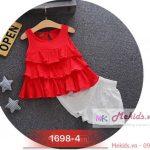 Bộ váy dành cho bé gái 2-7 tuổi