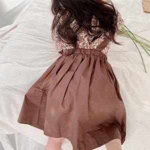 Váy vintage bé gái